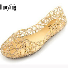 Women sandals 2016 fashion flat sandals shoes woman summer shoes jelly shoes