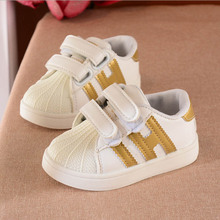 8 colors kids baby Children sport Shoes 2017 spring autumn New korean Brand boys Sneakers Casual Girls Shoes A08 size 21-36