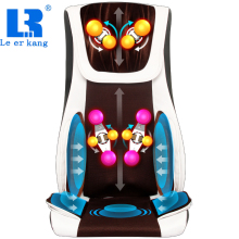 LEK 909 Hot Vibrating electric body massager machine heating shoulder back massage cushion chair relax muscle therapy massage