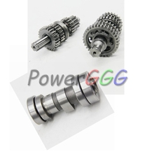 MotorcycleLifan 125cc  Horizontal Lifan Engine Camshaft  And main counter shaft  Gear Box  Lifan 125cc Engine Part
