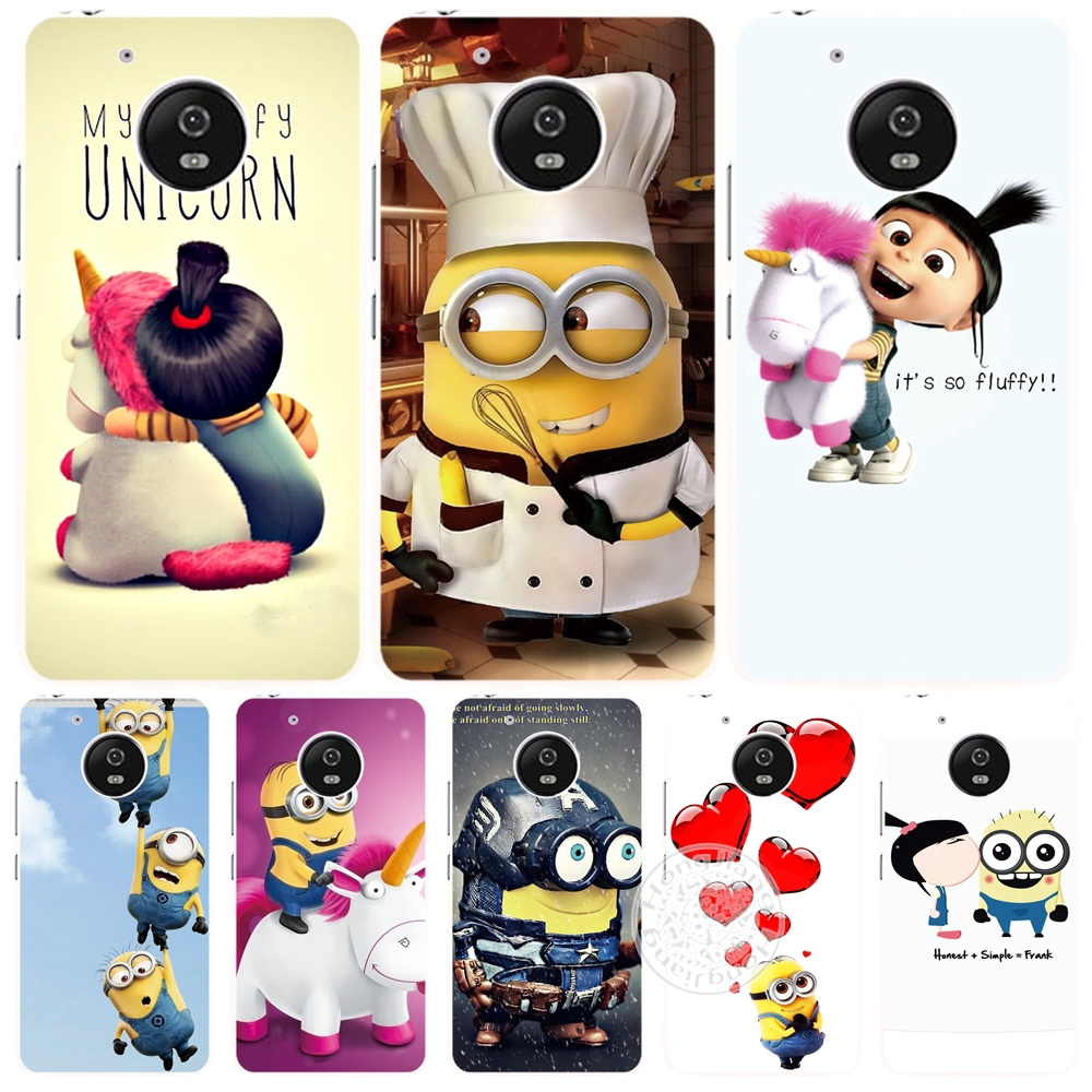 Minion My Unicorn Agnes christmas case cover for For Motorola Moto G5 G4 PLAY PLUS ZUK Z2 BQ M5.0(China (Mainland))