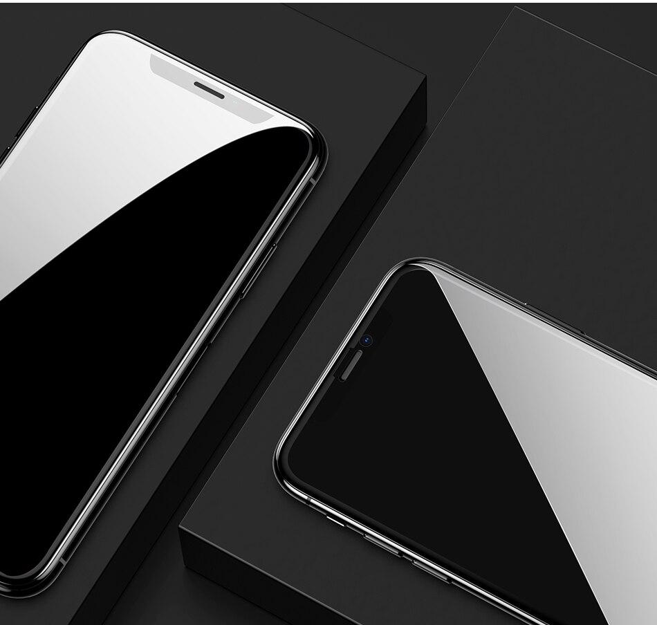Miếng dán kính cường lực 3D chống nhìn trộm cho iPhone 11 - 11 Pro - 11 Pro Max - iPhone X - Xs - Xs Max - XR hiệu ANANK
