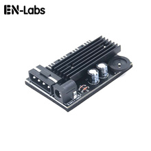 Computer PC Case CPU Cooler 3pin cooling fan speed temperature controller, 3 pin Fan Hub Power Supply Splitter by 4Pin or SATA(China)