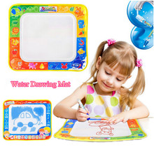 29*30cm Baby Water Drawing Mat Kids Painting Board Drawing Toys Aqua Painting Writing Doodle with Magic Pen Non-toxic Play Mat
