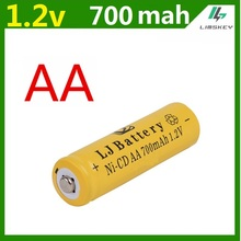 14500 Rechargeable AA Battery 1 pcs/lot 700mAh 1.2V Ni-CD 2A Neutral Battery for RC Controller Toys Electronic Etc.(China)