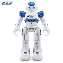 JJR/C R2 USB Charging Dancing Gesture Control RC Robot Toy Blue Pink for Children Kids Birthday Gift Present(China)