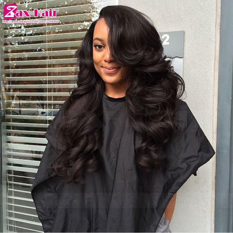 full lace wigs 100% human hair customized human hair lace front wigs natural hairline wavy brazilian virgin Grade 7a hot sale <br><br>Aliexpress