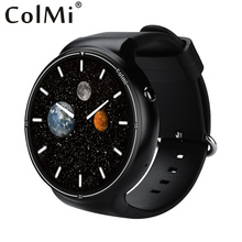 ColMi Smart i1 RAM 2GB +ROM 16GB Android 5.1 3G WIFI GPS Google Play Heart Rate Monitor Connect Android IOS Phone Smart Watch(China)