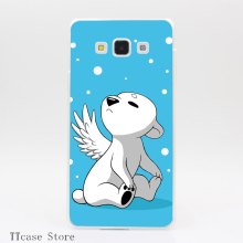 2725CA Polar Cub Transparent Hard Cover Case for Galaxy A3 A5 A7 A8 Note 2 3 4 5 J5 J7 Grand 2 & Prime
