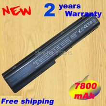 12cells Replacement Laptop Battery HSTNN-DB75 HSTNN-IB74 HSTNN-IB75 HSTNN-OB75 HSTNN-XB75 For Hp DV7 DV8 laptop 6600mah