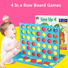 NEW Connect Four 4 In A Row Board Game Family Travel Educational Game Kids Toy Gift Fuuny Entertainment Board Game(China)