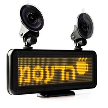 12v Car Led display Programmable Scrolling Message led sign For Airport Pick Up, Warehouse, hotel(China)