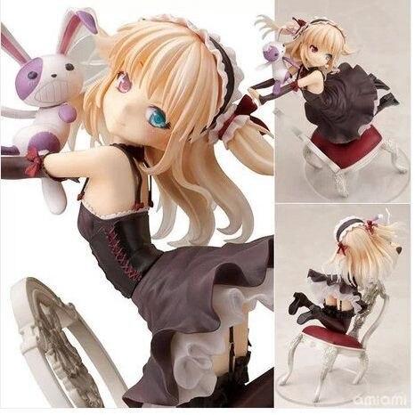 AnimeFree Shipping Boku wa Tomodachi ga Sukunai Hasegawa Kobato Chair 1/8 PVC Action Figures Toy 16.5CM SG005<br>