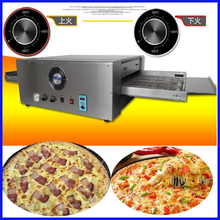Export quality professional Electric conveyor pizza oven maker pizza machine(China)
