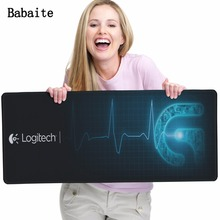 Babaite HOT Selling Logitech G Large Gaming Mouse Pad Edge Overlock keyboard Mouse mat Computer Games For League Of Legends Dota