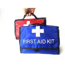 Portable 21kinds contents 52pcs safe outdoor survival car travel first aid kit camping hiking medical emergency treatment pack(China)