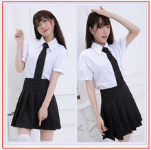 NEW Sexy Halloween Costume Sexy School Student Uniform Sexy Underwear Role Play Dress