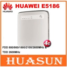 Original unlocked Huawei E5186 Cat6 300Mbps E5186s-22a LTE 4g wireless router 4g FDD TDD cpe wireless gateway