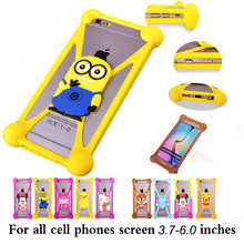 Cute Cartoon Batman Spongebob hello kitty Silicon phone Cases Cover for Sony Xperia T2 Ultra & Ultra Dual Z1 Compact Z3 Compact(China)