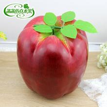 Hot New Large Size Promotional Gifts Home Decoration Simulation Foam Apples Fake Fruits Kids Toys Photography Early Education PL