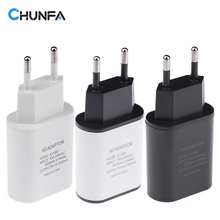 CHUNFA New EU Plug USB Charger 2A Safe Fast Charging USB Adapter Europe Travel Wall Charger for iPhone 5 6 6S Plus for Samsung(China)