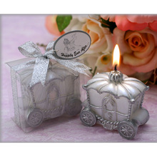 New Festive Jollification Merrymaking Candle Favor Elegant Pumpkin Carriage Candle Gift Romantic Wedding Gifts BS(China)