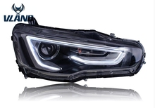 Free shipping for Mitsubishi LANCER EX LED headlight 2008-2014 HID with A5 model