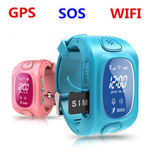 2016 New Arrial GPS/GSM/Wifi Tracker Watch for Kids Children Smart Watch with SOS Support GSM phone Android&IOS Anti Lost Y3(China)