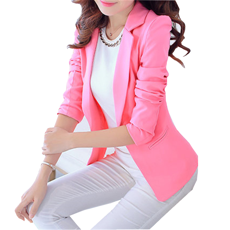 Online Get Cheap Pink Women Blazers -Aliexpress.com | Alibaba Group