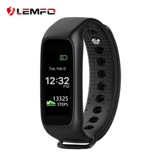LEMFO L30t Bluetooth Smart Band Dynamic Heart Rate Monitor Full color TFT-LCD Screen Smartband for IOS Android Smartphone
