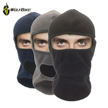 WOSAWE 3-in-1 Cycling Winter Head Mask Thermal Fleece Bicycle Sports Scarf Mountain Hiking Protect Mask Bike Cycling Face Masks