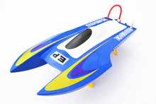 M440 PNP Fiber Glass Catamaran Electric Racing Speed Boat Mini RC Boat W/ESC& Brushless Motor Blue