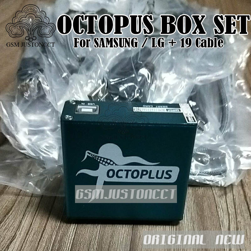 OCTOPUS Box FOR SAM + LG 19 cable - gsmjustoncct