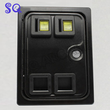 Dual american style coin door with microswitch for arcade cabinet/casino machine/slot game cabinetCoin operator machine