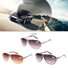 2017 Fashion metal Reading Glasses Gradient Sunglasses Readers  +1.0 to +3.5 MAR16_15
