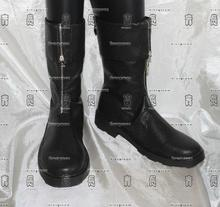 final fantasy Zack Fair Cosplay Shoes Boots Custom-Made(China)