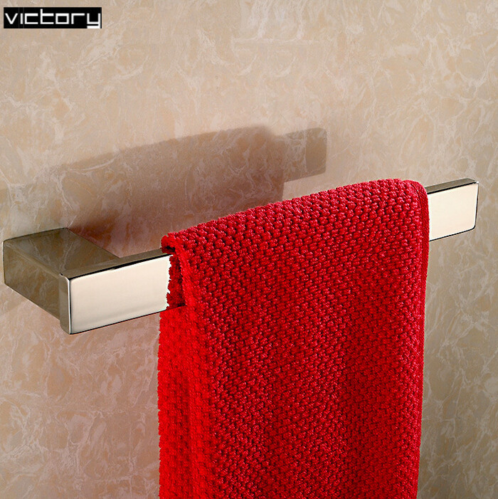 Stainless steel 304 square towel bar hanging towel ring square towel holder ring towel inox bathroom accessories<br><br>Aliexpress