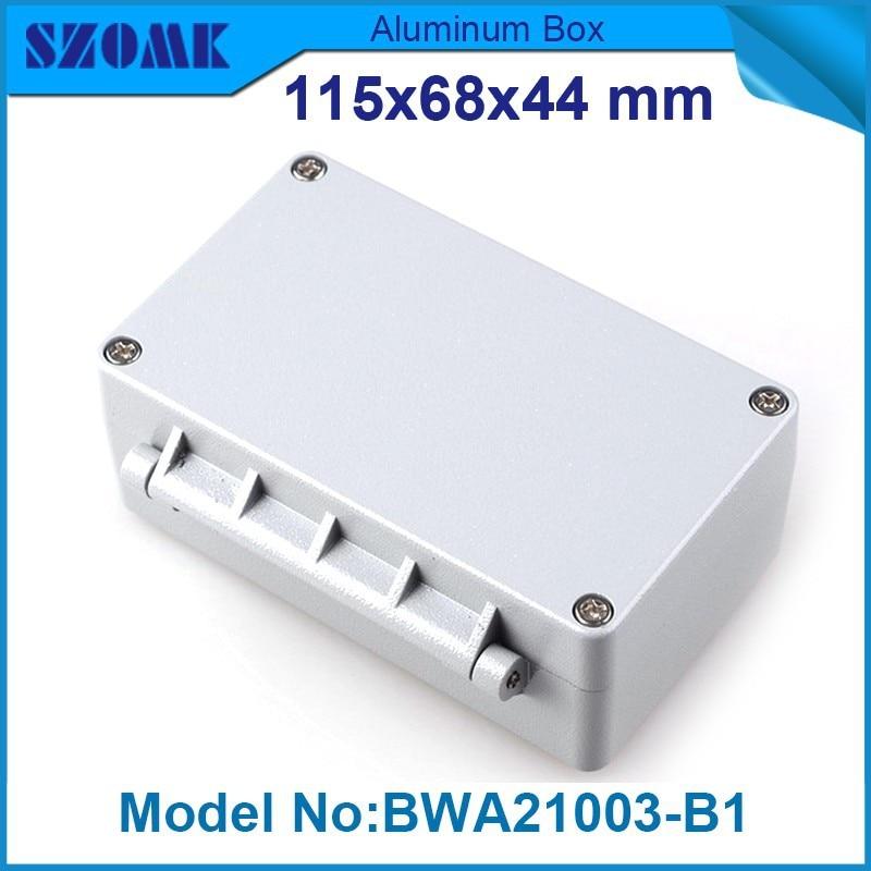 4 pcs/lot aluminum box aluminium enclosure ip68 waterproof housing fit pcb size  36.5x58x87.39mm<br><br>Aliexpress