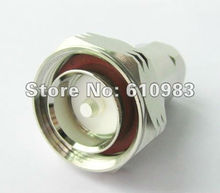Free shipping (5 pieces\lot) 7/16 Din RF coaxial connector  Clamp Plug for Corrugated copper 1/2''cable