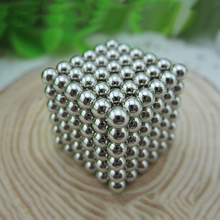 2017 new Barker ball 3mm216 magic magic ball Baki magnetic ball cube children puzzle creative blocks to play toys stress relieve