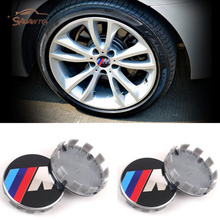 "4 PCS 68mm 2.67"" Car Rim Wheel Center Hub caps for BMW E60 E30 E34 F30 F10 F20 X5 E53 3 5 6 7 series X6 X3 Z3 Z4 E39 E46 E36 E90(China)"