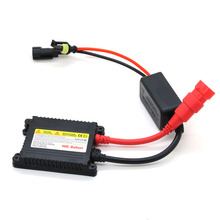 1pcs DC230 35W 55W Slim HID xenon ballast kit H1 H3 H7 H11 9005 9006 880 car headlight Electronic ballast(China)