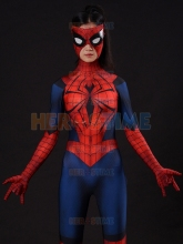 Spider-Bitch Costume Spider-Girl Cosplay Suit Lady Spiderman Halloween Bodysuit Zentai Spider-man Catsuit Female Spidey Suit