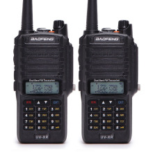 2pcs Baofeng UV-XR 10W High Power 4800Mah Battery IP67 Waterproof Two Way Radio  Dual Band Handheld Walkie Talkie