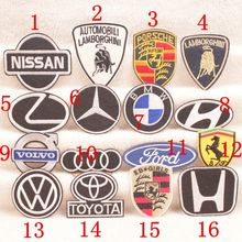 15 pcs Fashion affixed cloth patch Car flag clothing decorative decal denim euramerican style exquisite patterns 00804047(China)