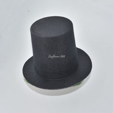 2017 Cute Black Mini Top Hat Hair Clip For Women Girls Wedding Birthday Party Carnival Fancy Dress Hair Accessories