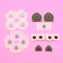 Free shipping New Conductive Rubber Buttons Pad Kit for Sony Playstation 4 PS4 Wireless Controller [1set=9pcs]
