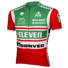 2017 Men Bike Tops Short Sleeve Cycling Zersey Team Red Green Short Sleeve Wear Team Bicycle Cycling Jersey Clothing Breathable(China)