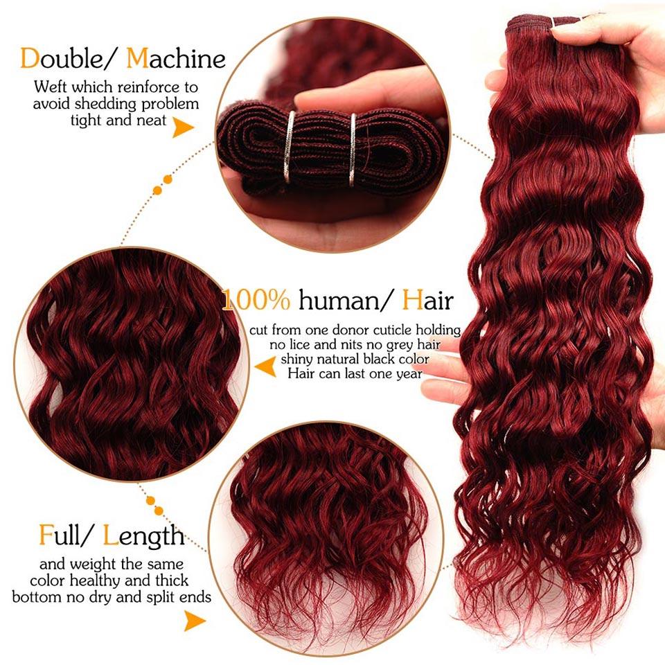 Pinshair-Wine-99J-Brazilian-Hair-Water-Wave-3-Bundles-Burgundy-Wet-Wavy-Human-Hair-Weave-Extensions-Water-Wave-Non-Remy-Hair-(13)