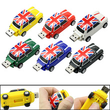 New elegant England car cool creative Gift usb flash drive memory stick 4GB 8GB 16GB pendrive external storage usb memory stick